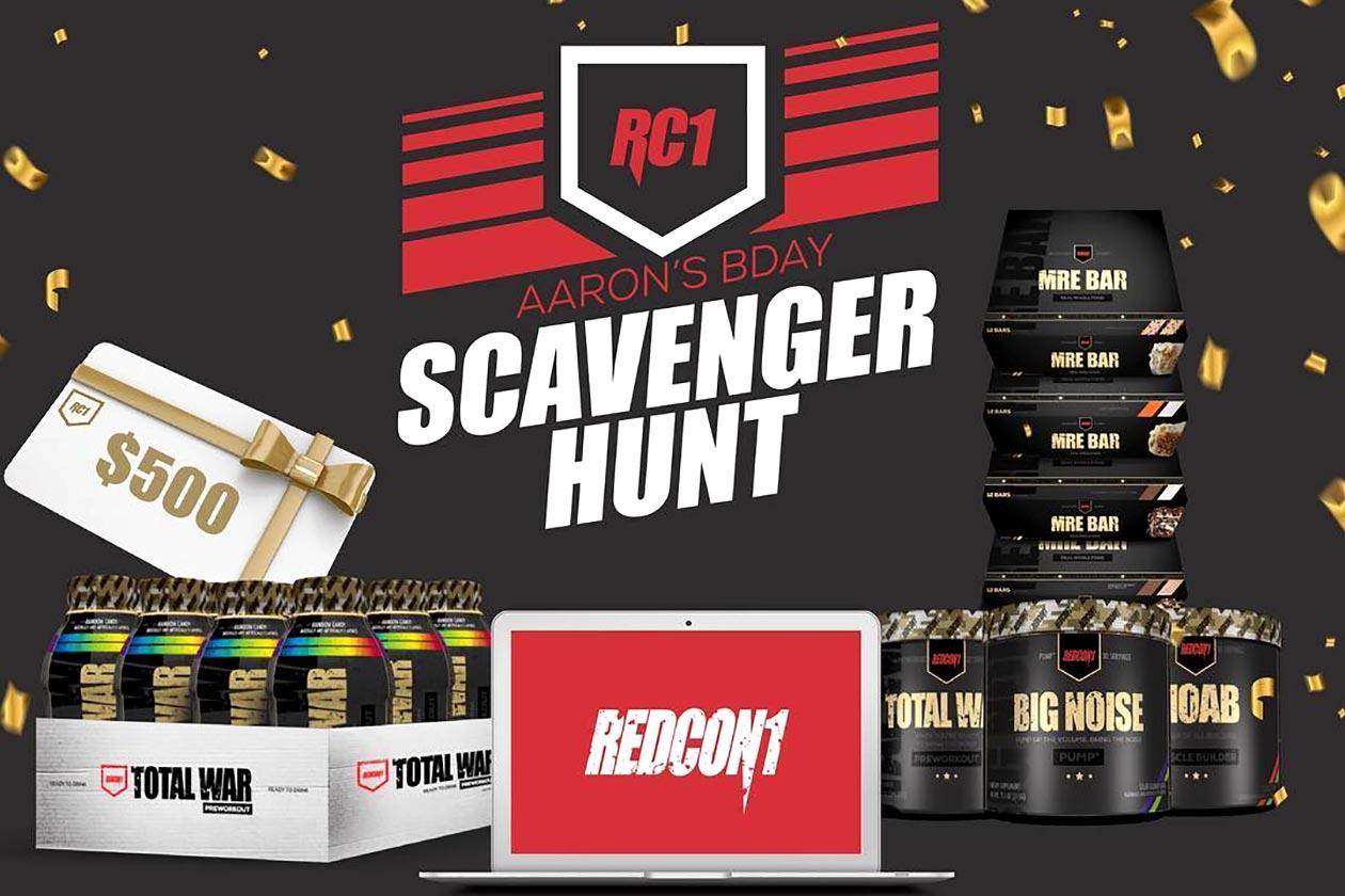 redcon1 scavenger hunt