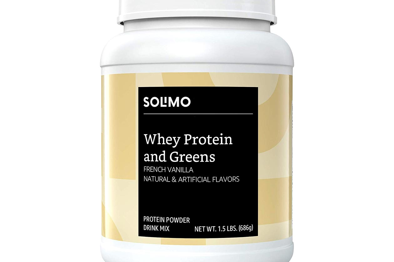 Solimo Whey Protein and Greens
