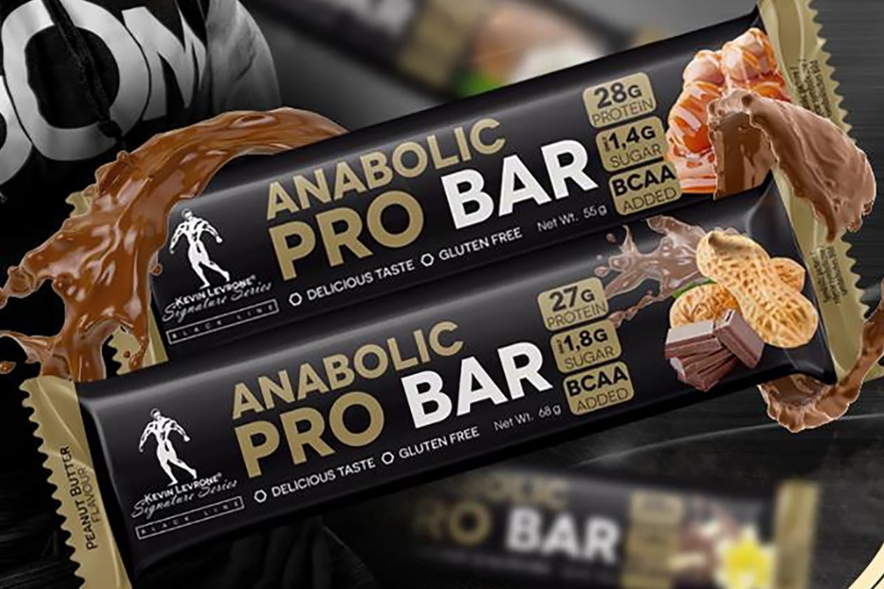 Levrone packs a high 28g of protein into its new Anabolic Pro Bar