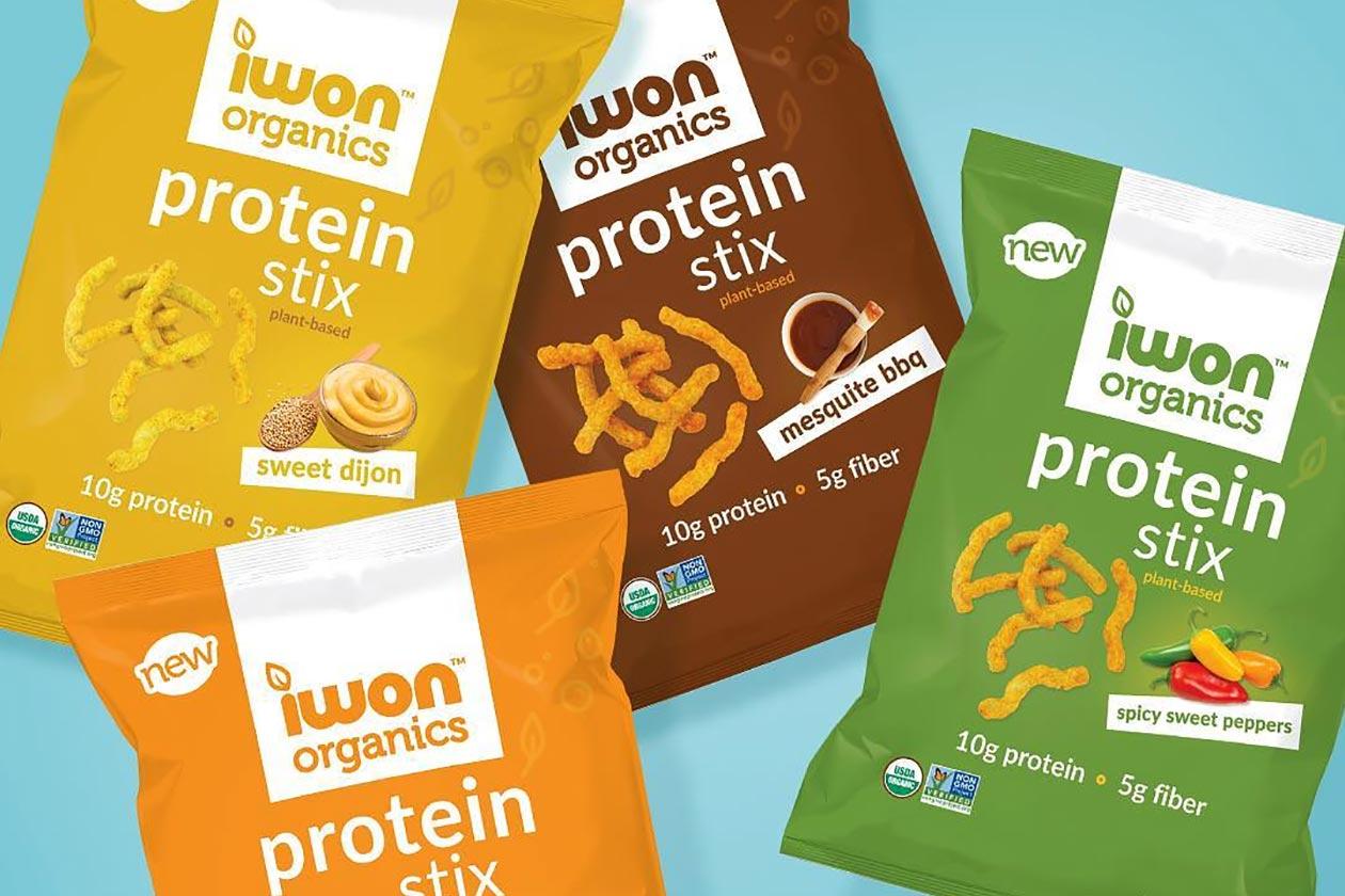 iwon organics protein stix