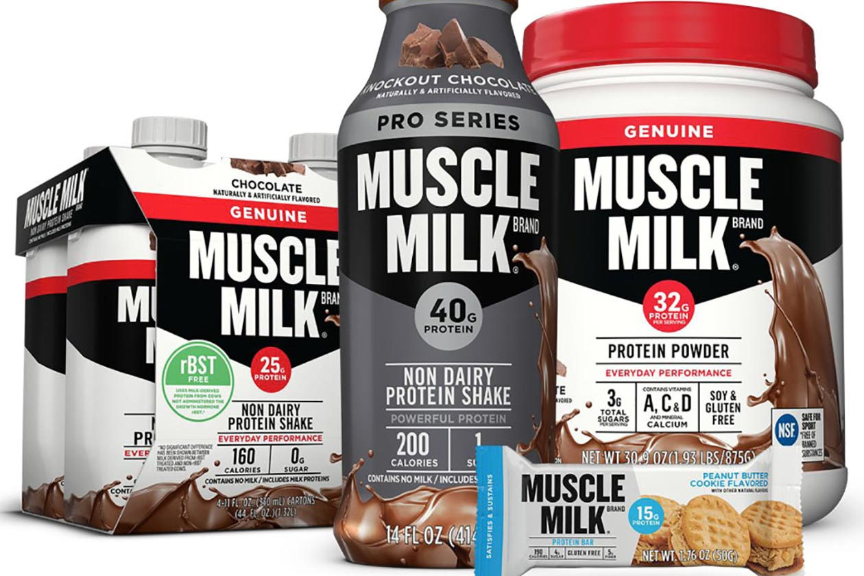 Company behind the Muscle Milk brand is being acquired by Pepsi