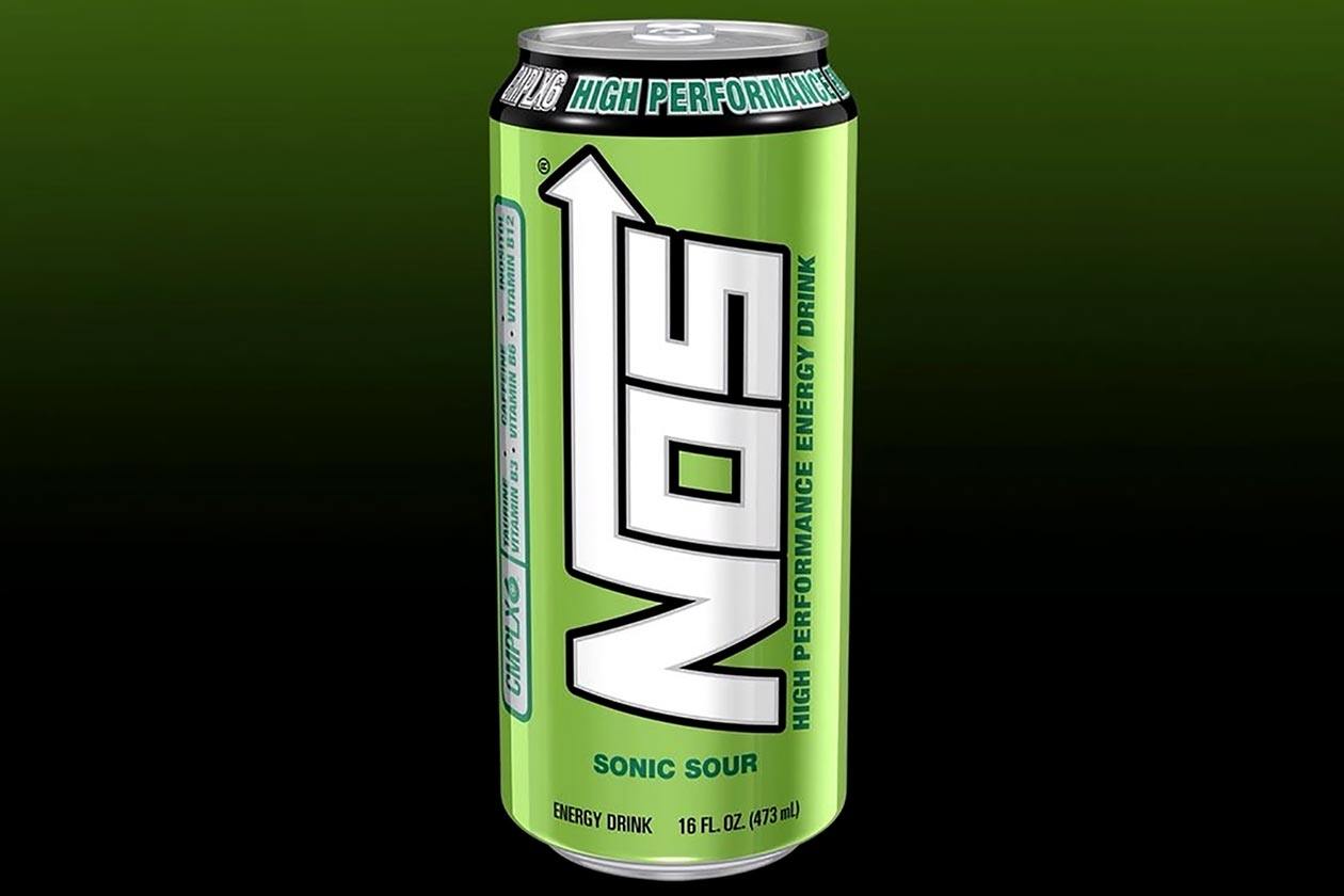 Sonic Sour Nos Energy Drink Now Available In The Usual