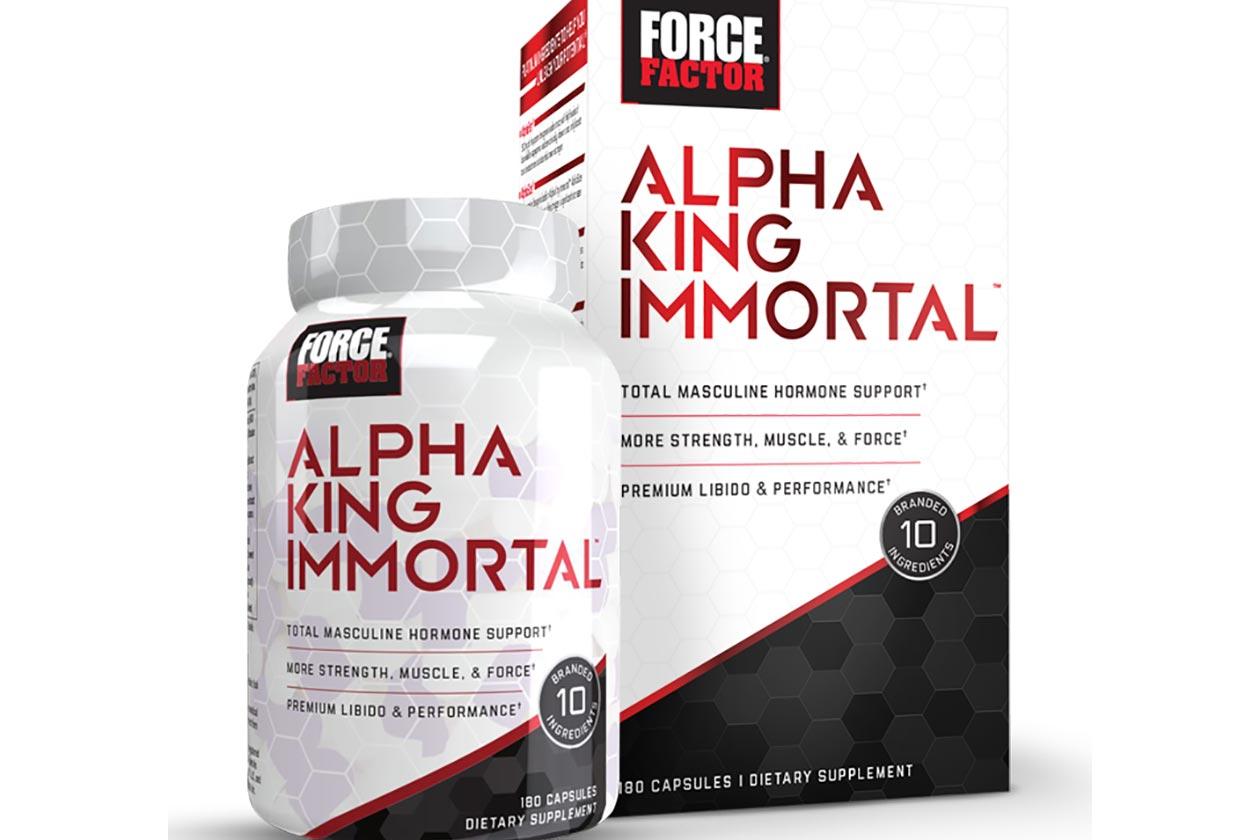 alpha king immortal
