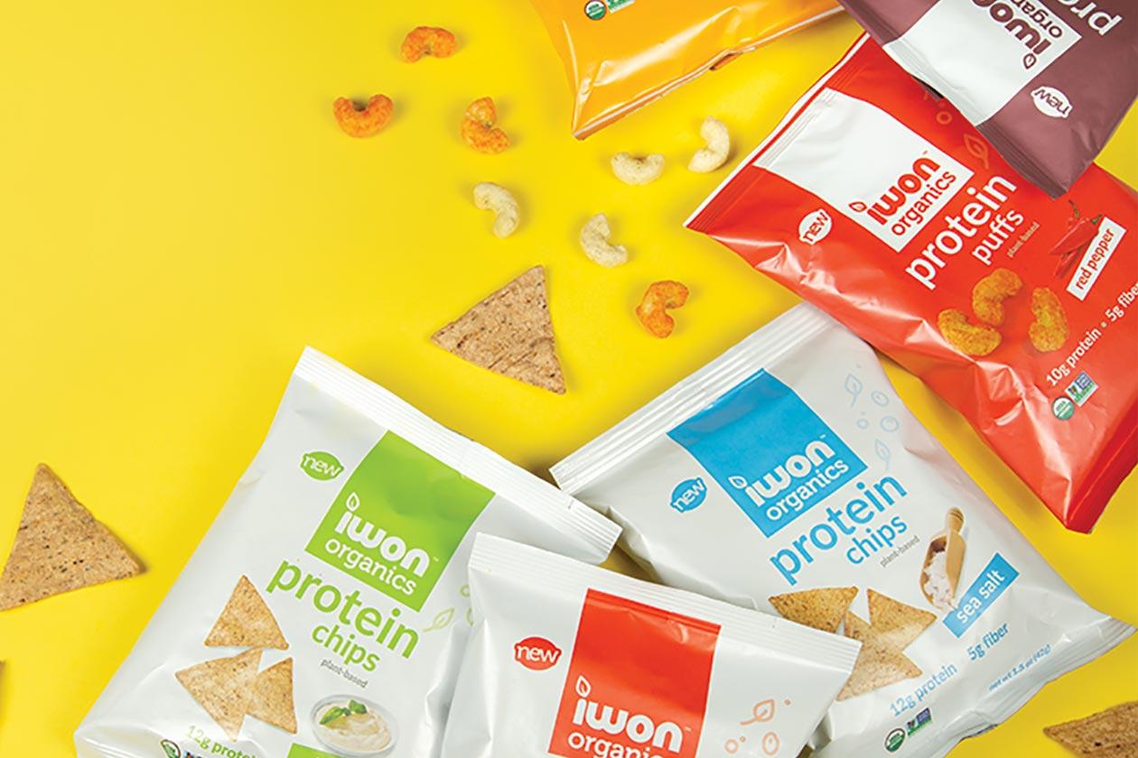 iwon organics sweet protein snack