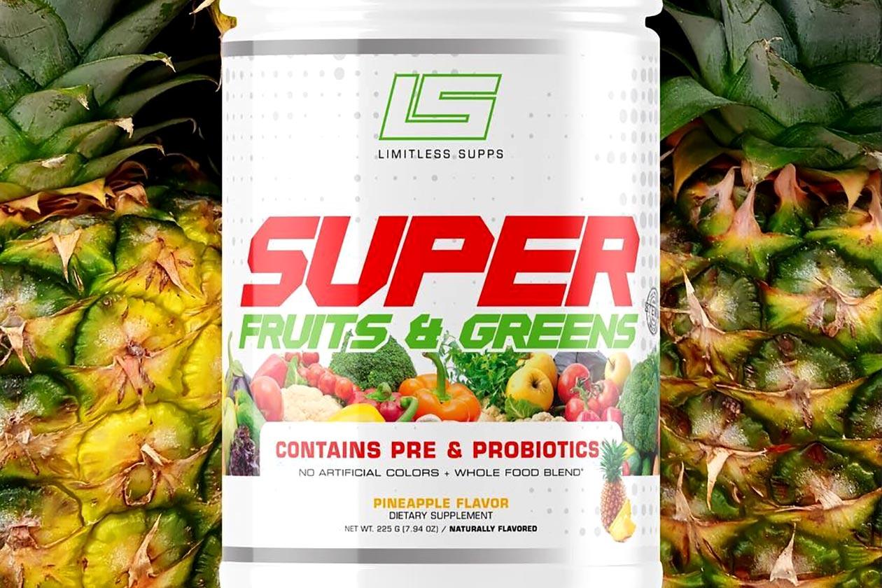 limitless supps super fruits greens