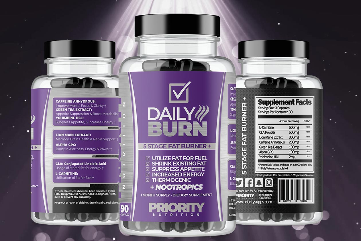 priority nutrition daily burn