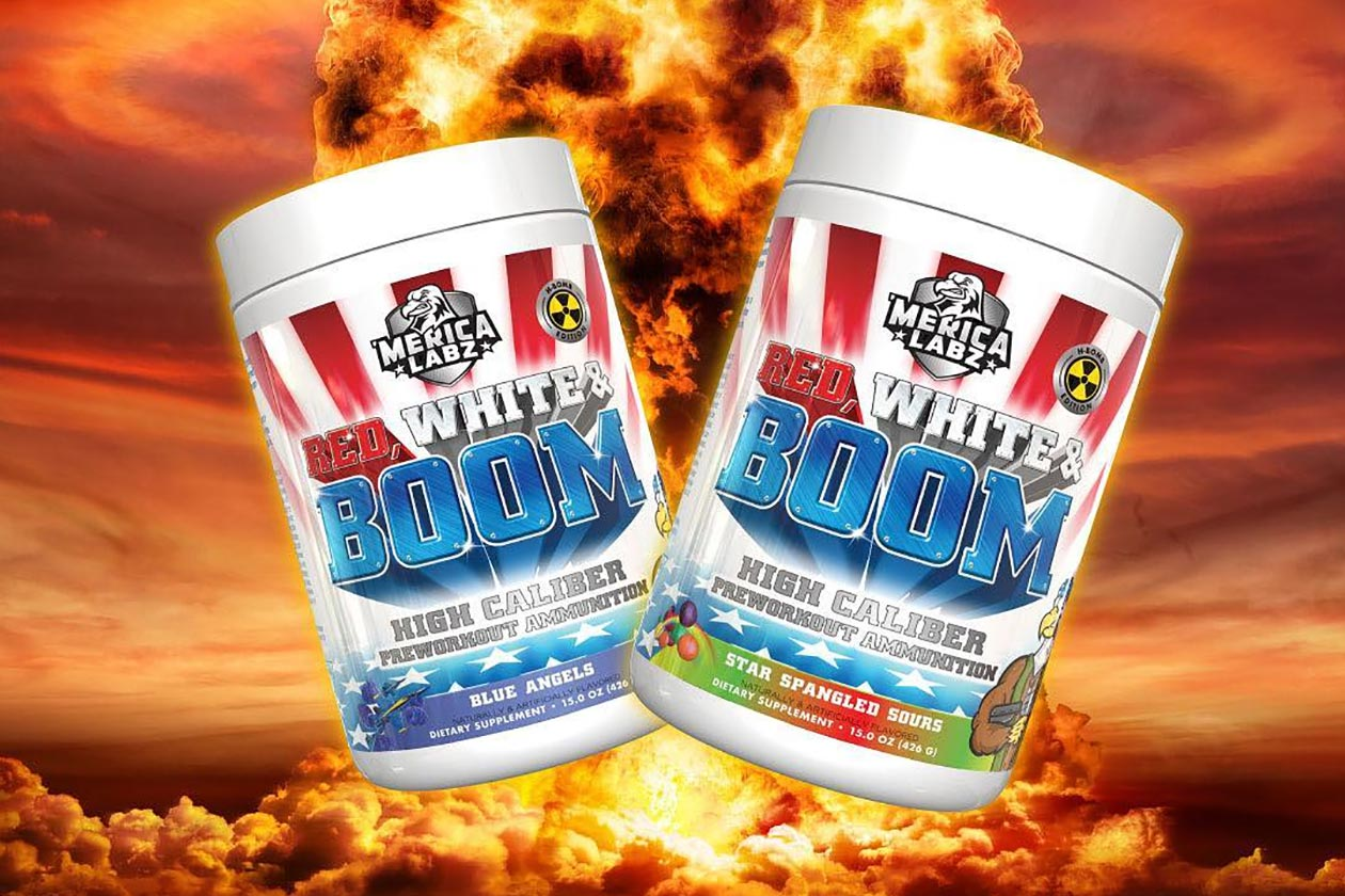 red white boom h bomb first look