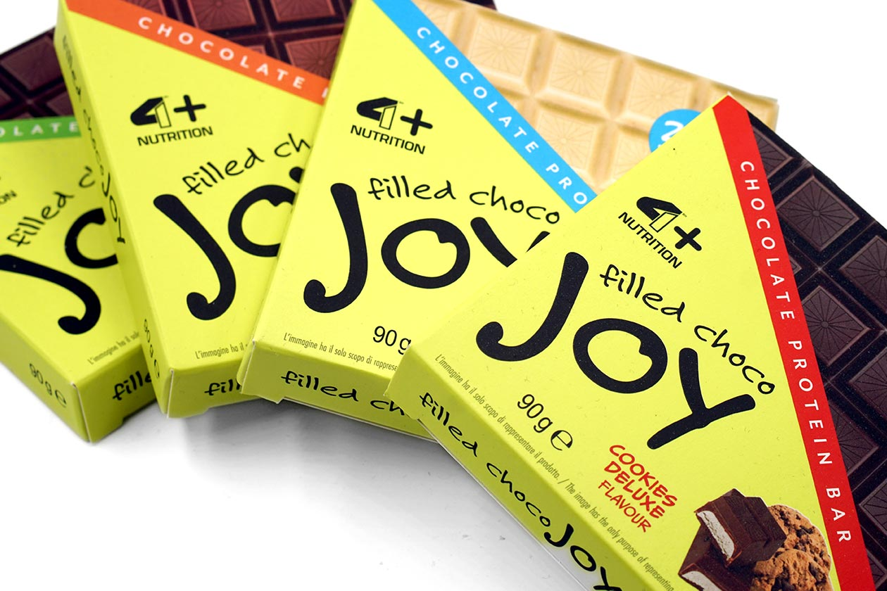 4 plus nutrition filled choco joy