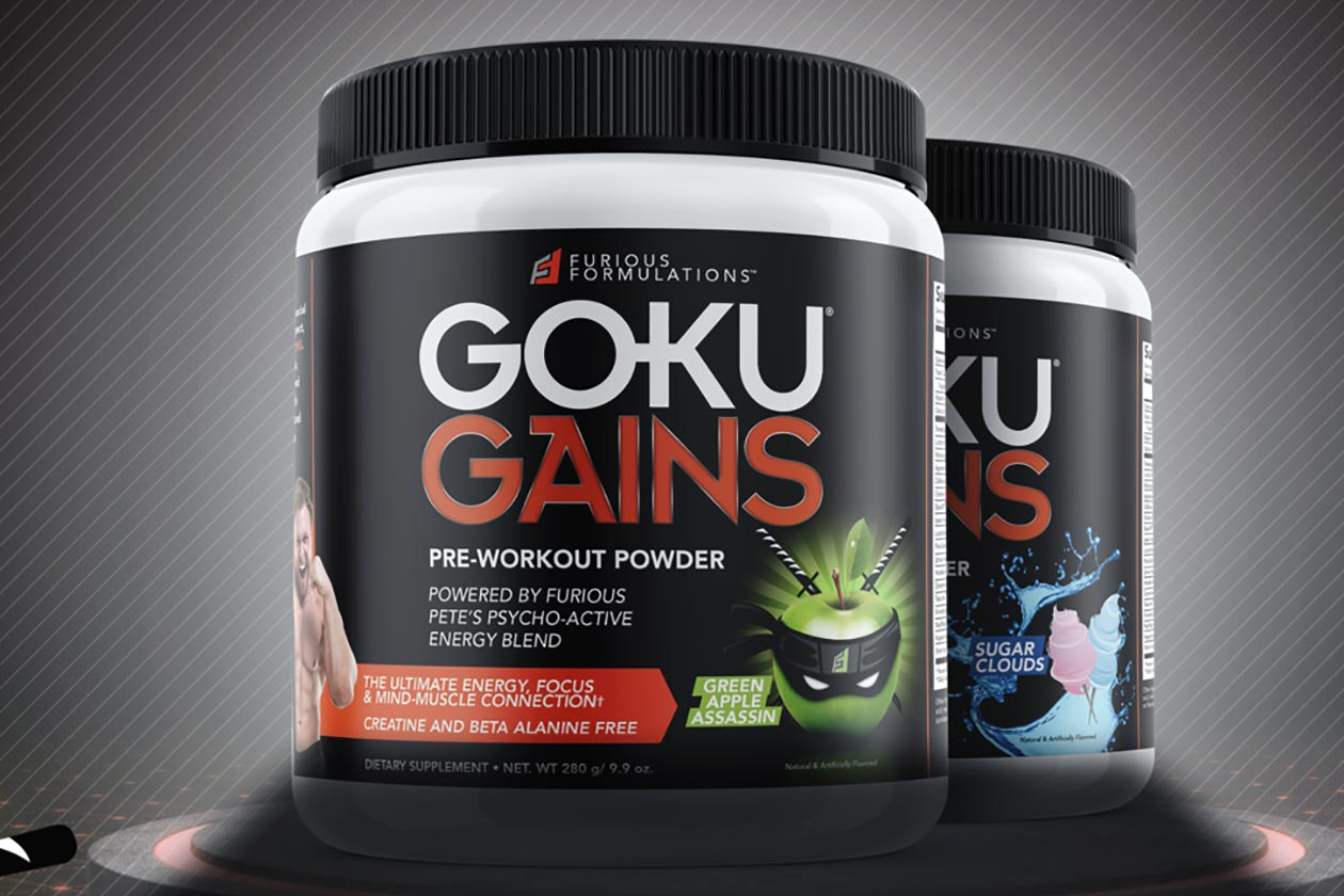 goku gains pre-workout