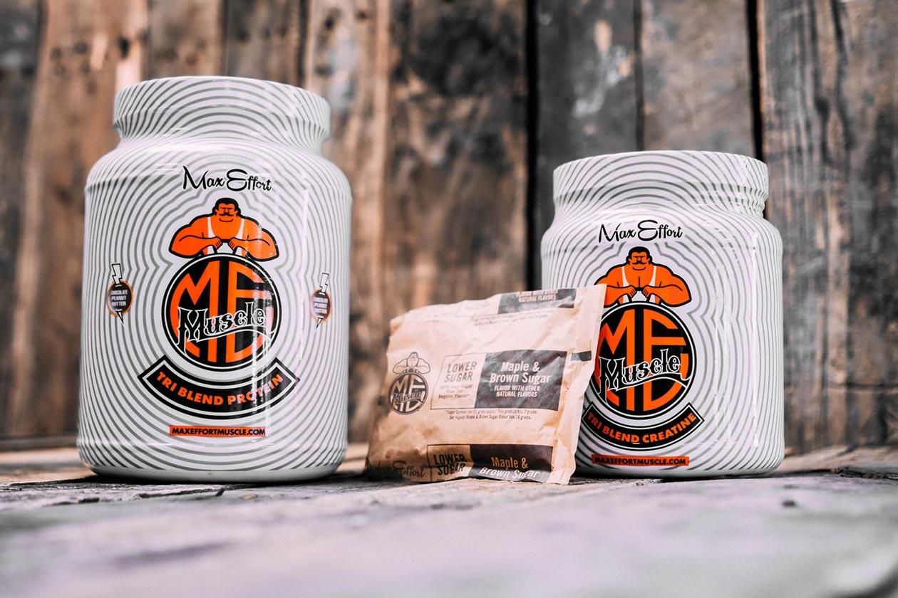 max effort muscle oatmeal
