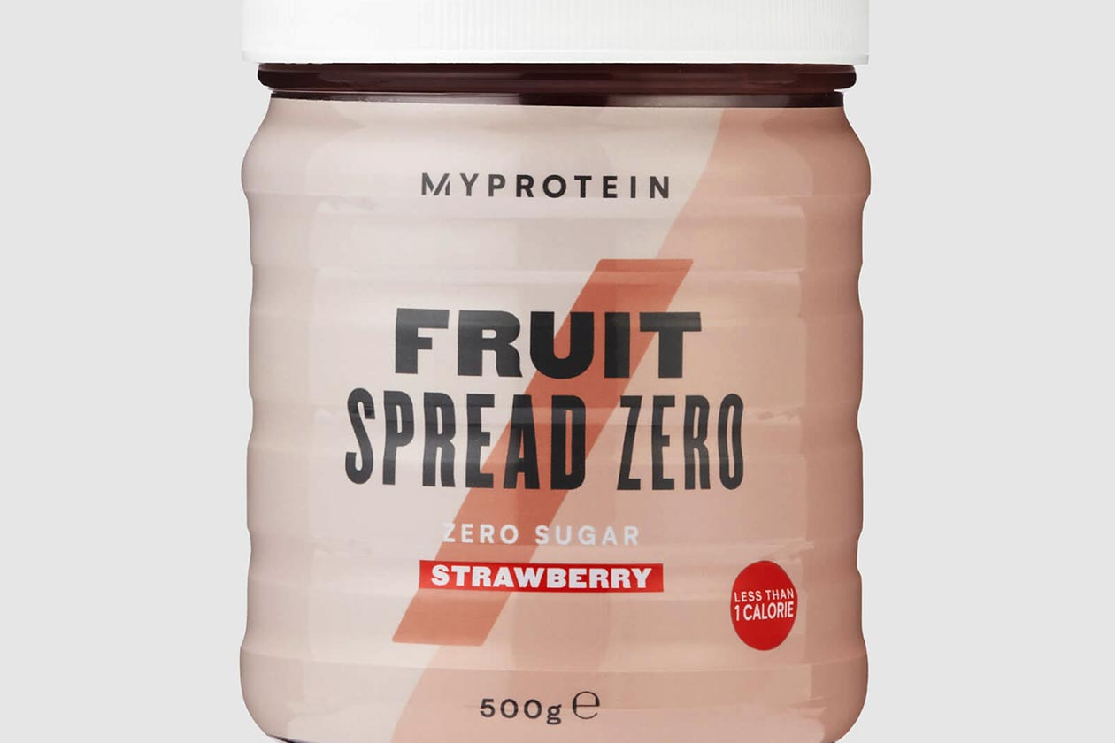 myprotein fruit spread zero