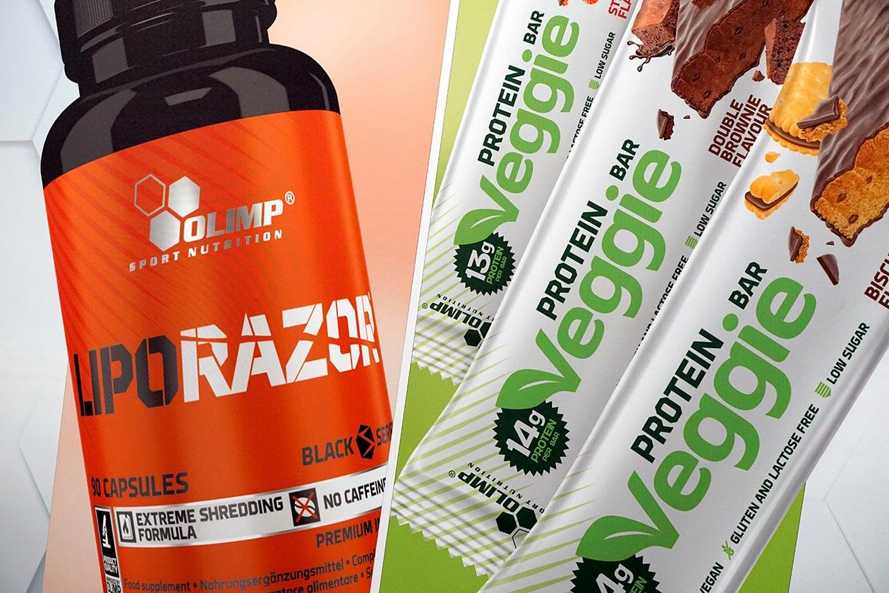 olimp liporazor veggie protein bar