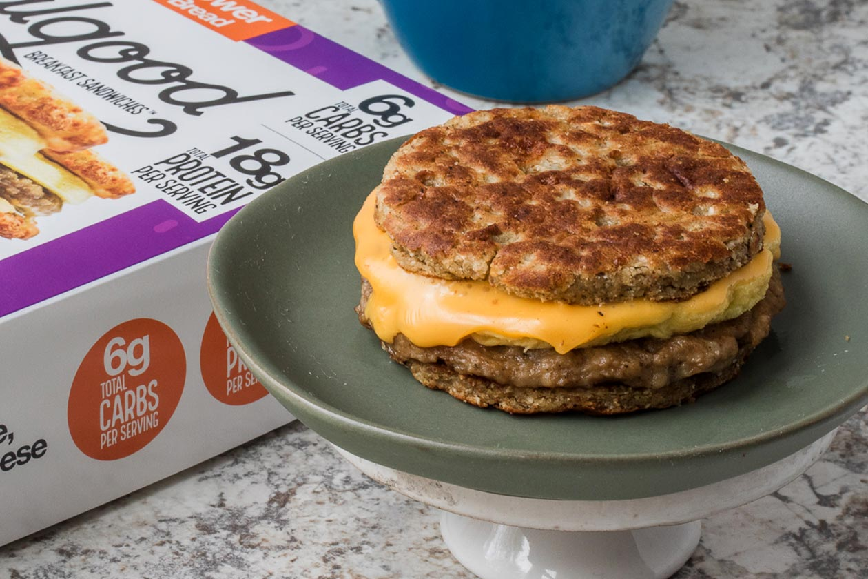 real good foods breakfast sandwiches