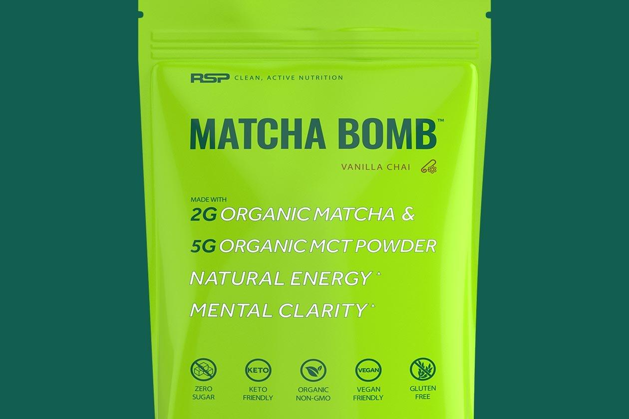 rsp nutrition matcha bomb