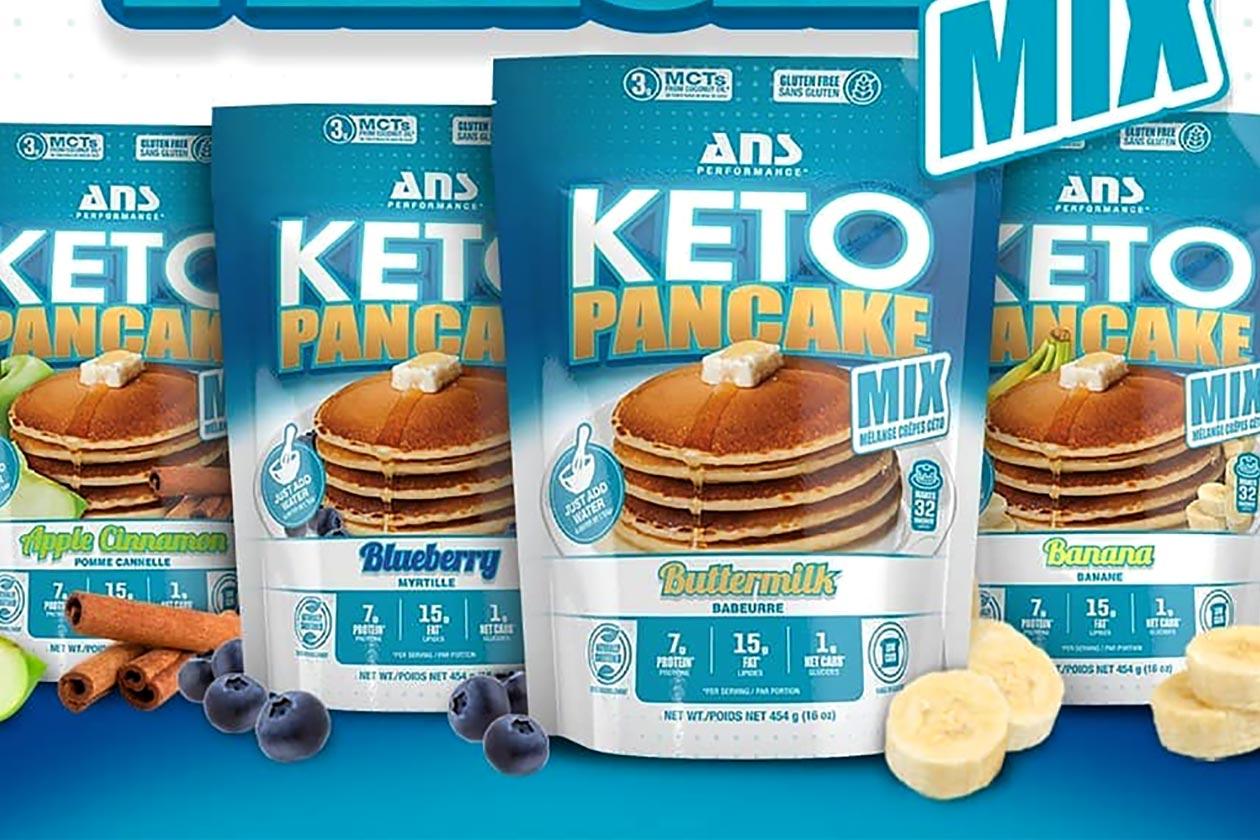 ans keto pancake mix