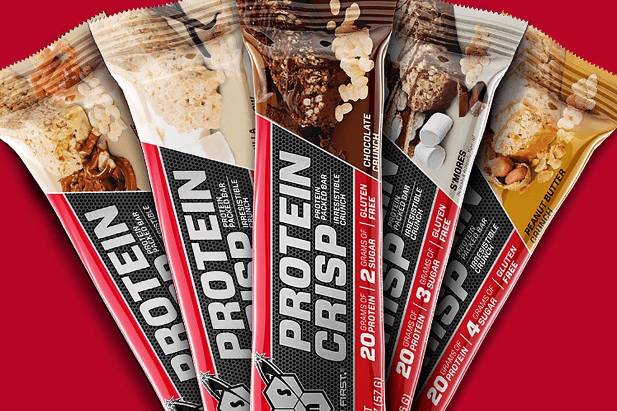 bsn protein crisp variety pack
