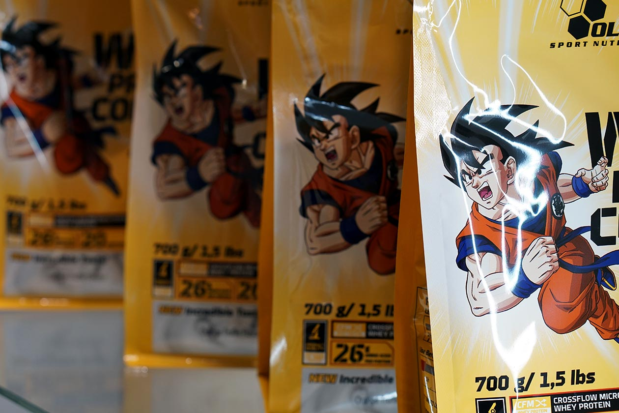 olimp dragon ball z supplements