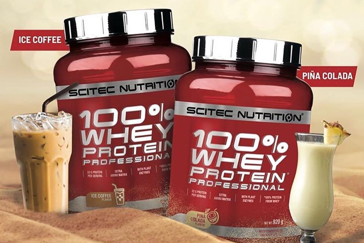 Scitec Nutrition Launches Ice Coffee And Pina Colada Proteins For