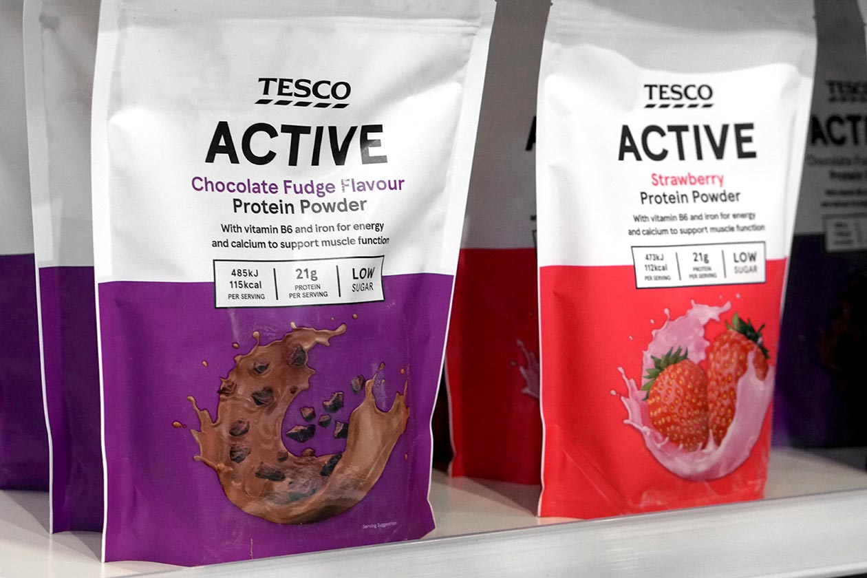 tesco active protein powder