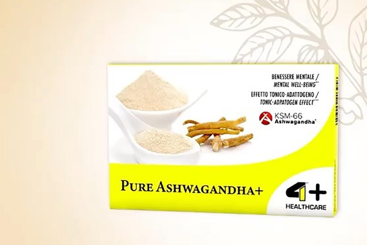 4 plus nutrition pure ashwagandha