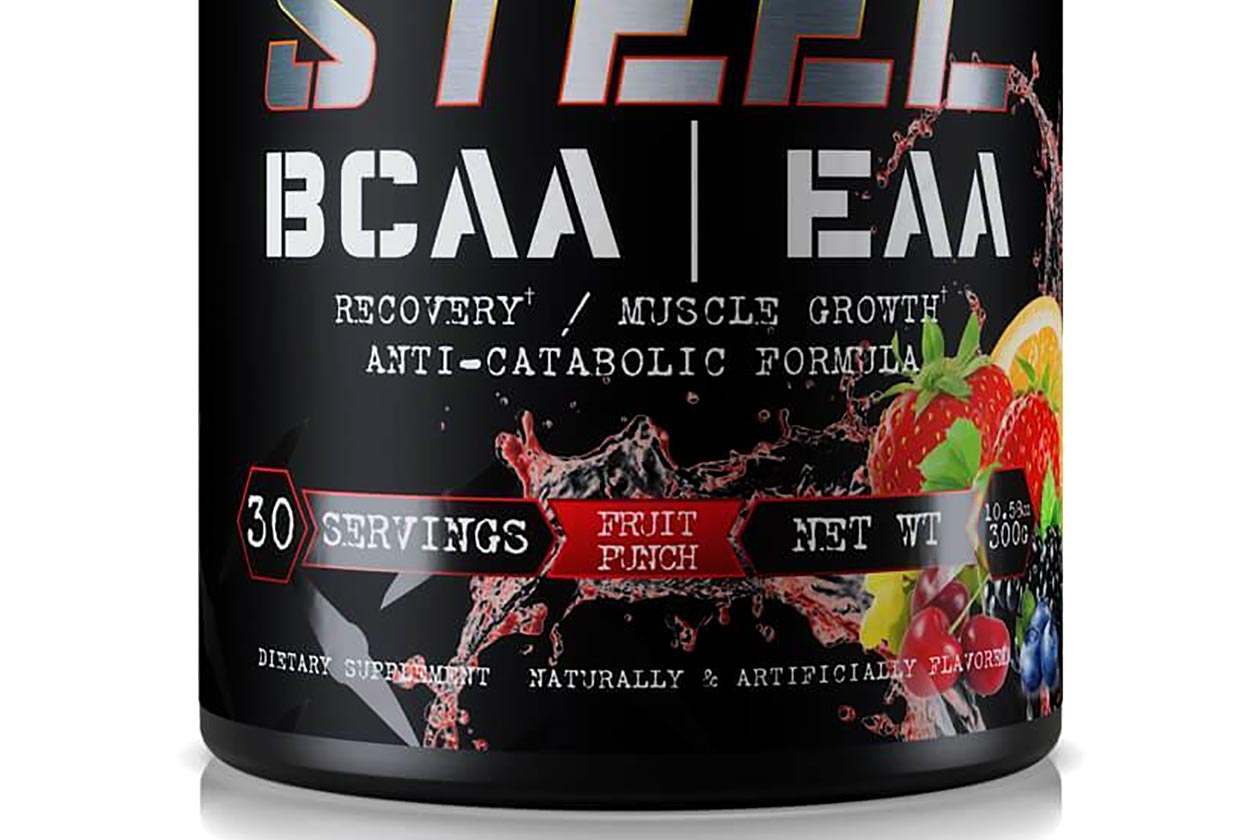 fruit punch steel bcaa eaa