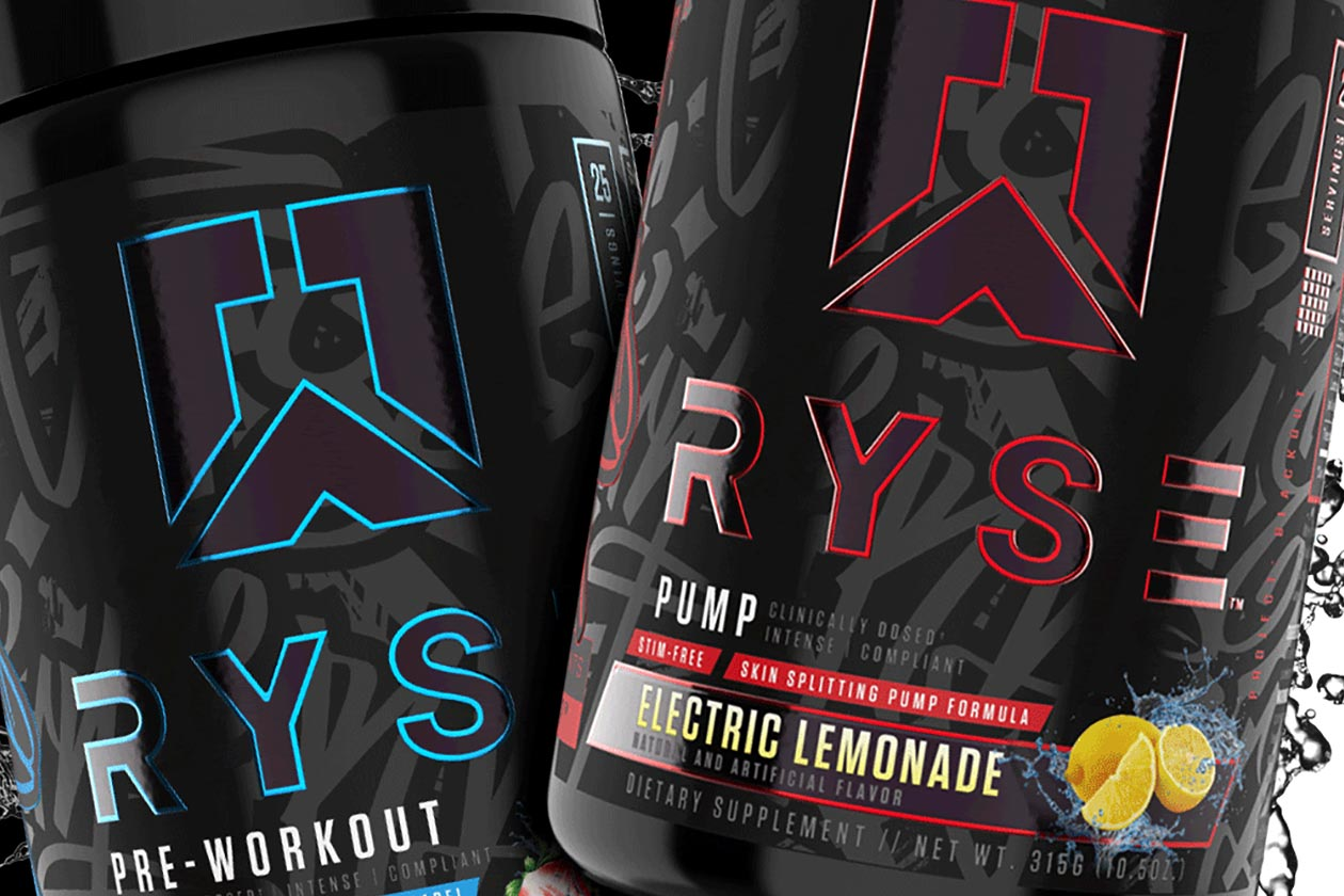 Ryse packs a variety of NO3-T nitrates in its Project Blackout pre-workouts