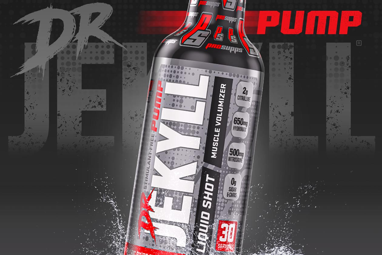 ProSupps announces its unique Dr Jekyll Pump Liquid Shot