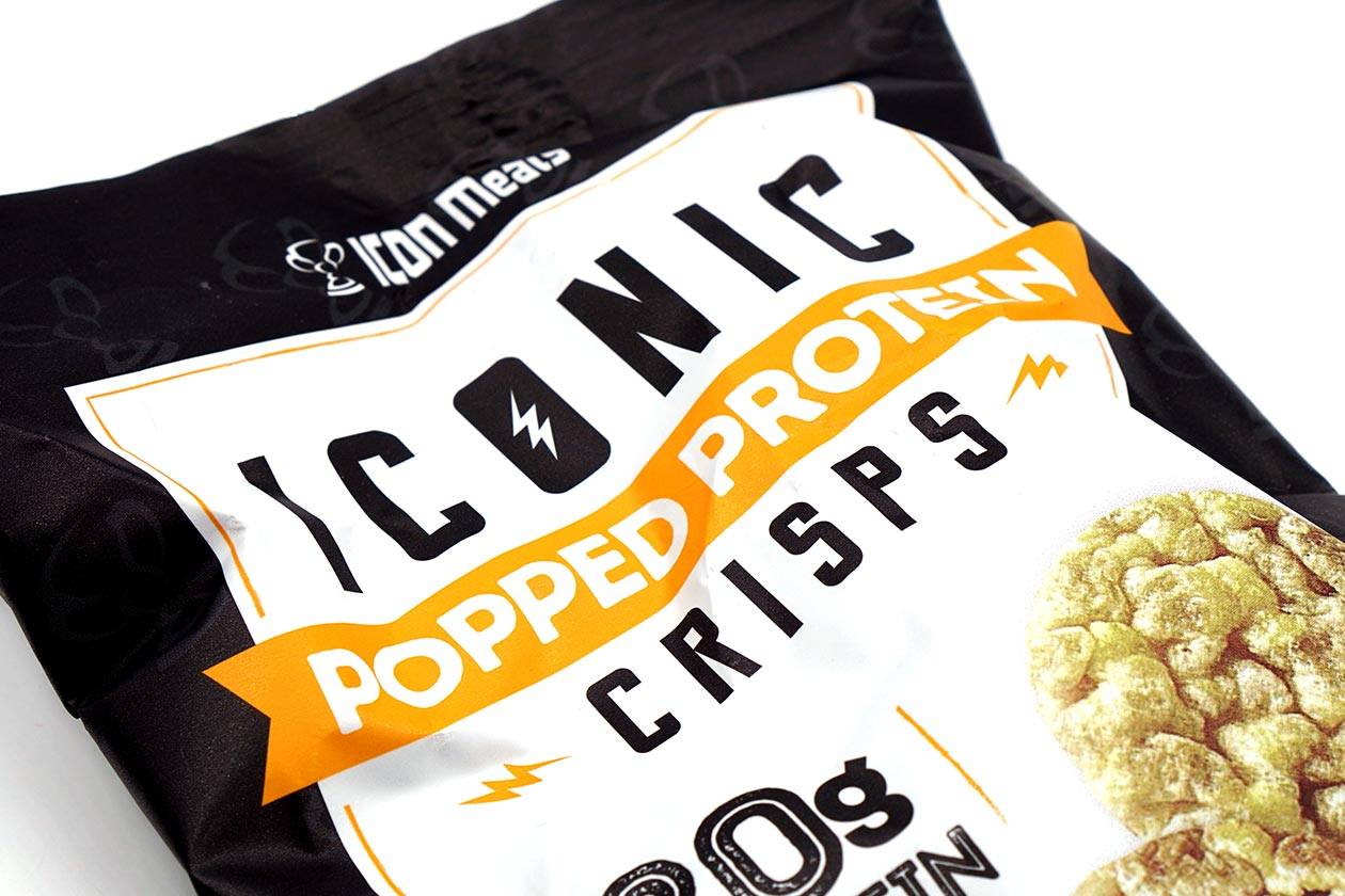 iconic popped protein crisps review