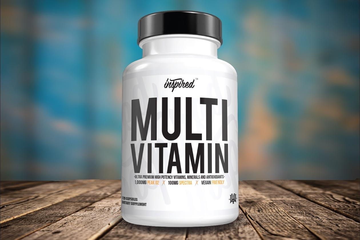 inspired announces premium multi-vitamin
