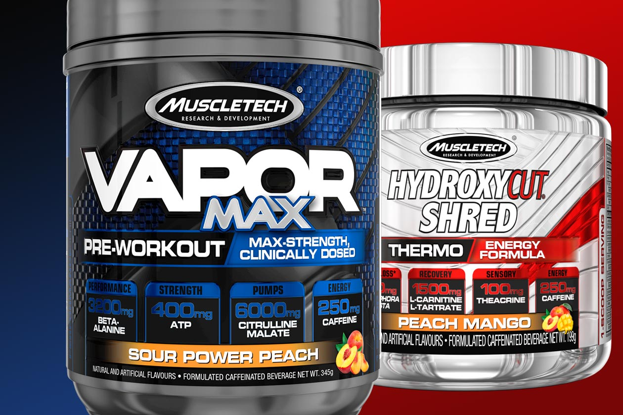 muscletech vapor max hydroxycut shred