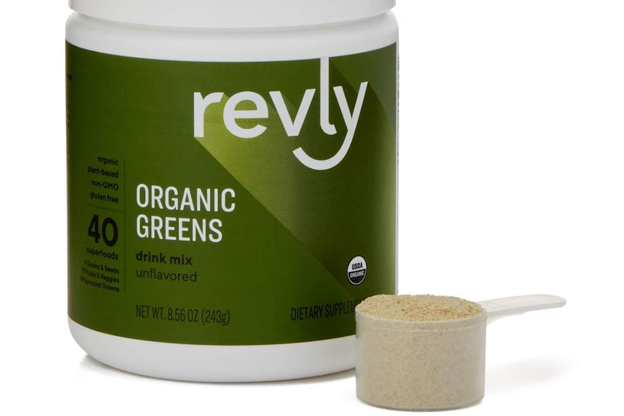 revly organic greens