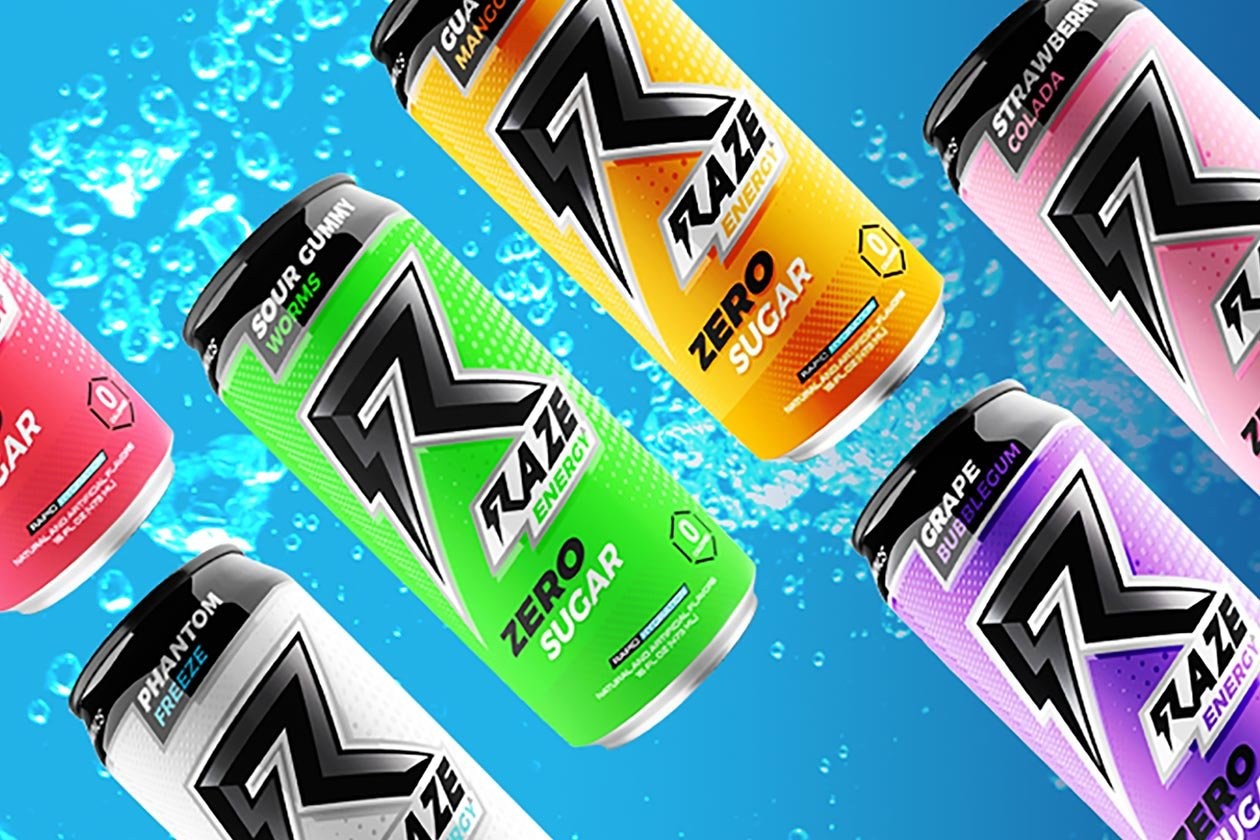 free raze energy sample pack