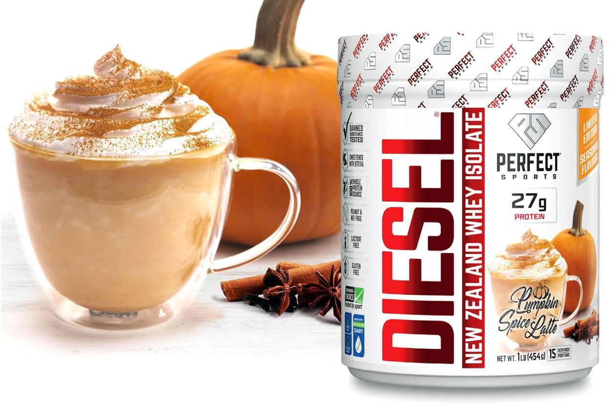 perfect sports pumpkin spice latte diesel