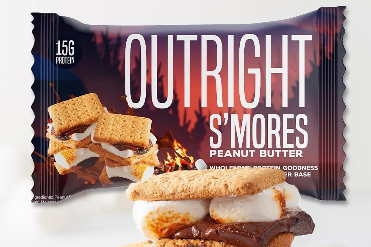 smores outright protein bar