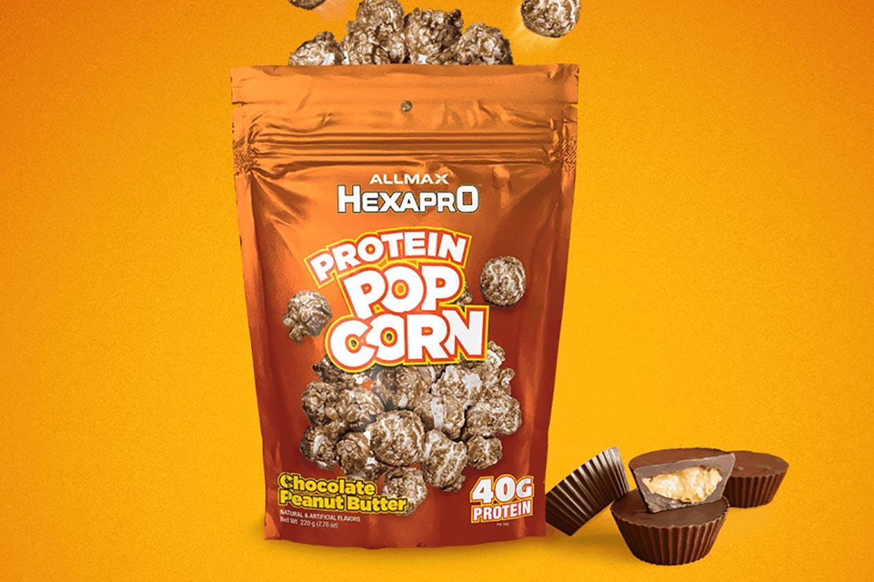 allmax hexapro protein popcorn