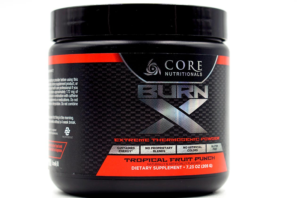 Core Nutritionals unveils its newest flavored fat burner Core Burn X