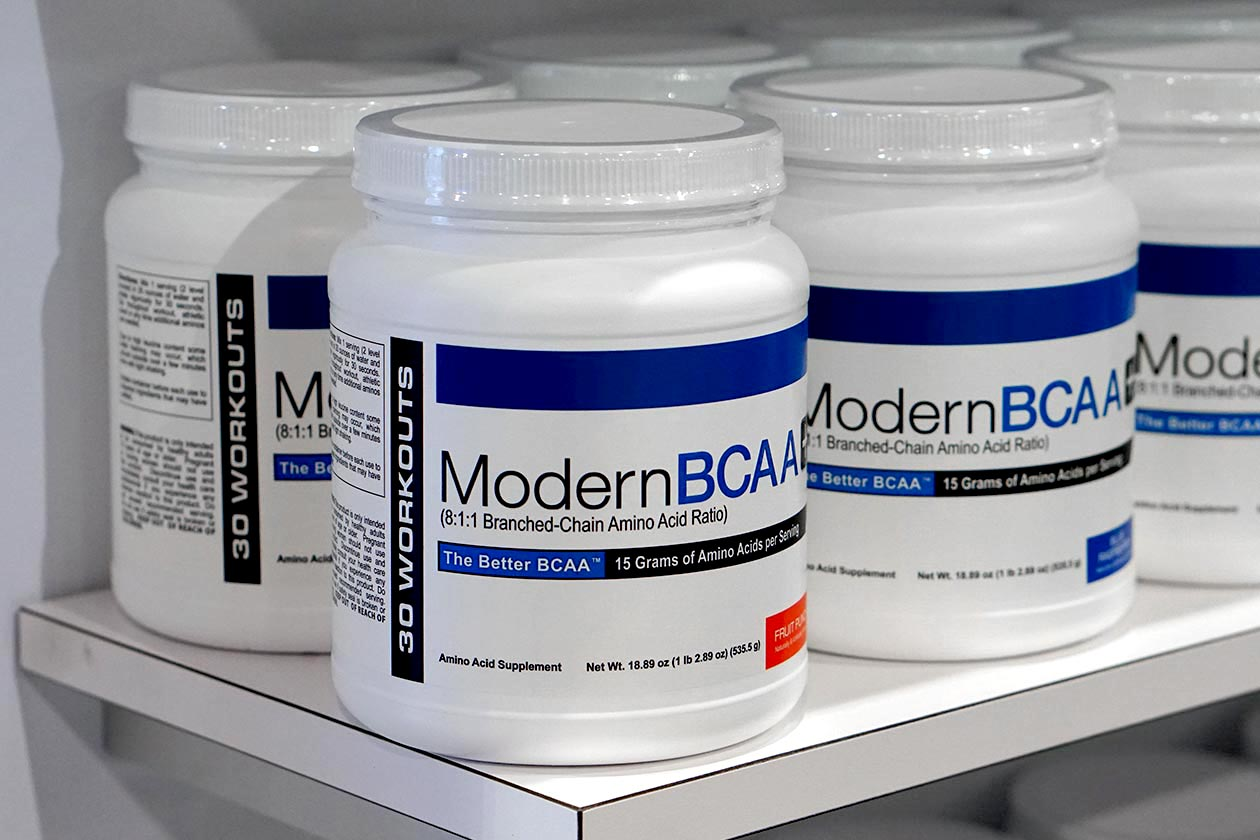 Modern BCAA is back under the all-new brand Modern Sports Nutrition