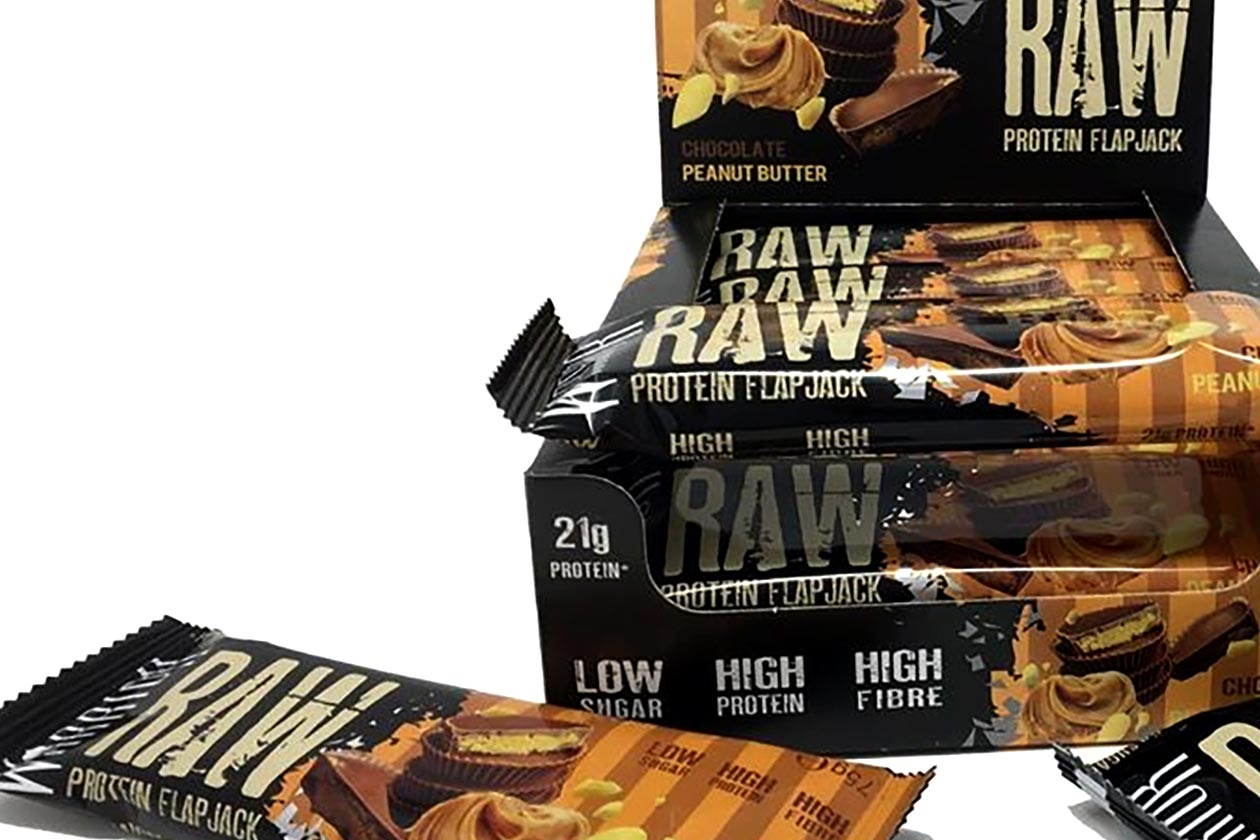 chocolate peanut butter warrior raw flapjack