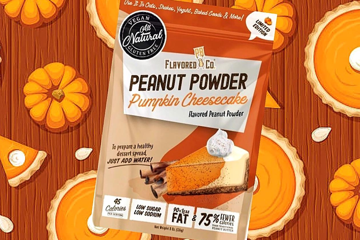 Limited Edition Pumpkin Cheesecake Available Now From Flavored Pb Co