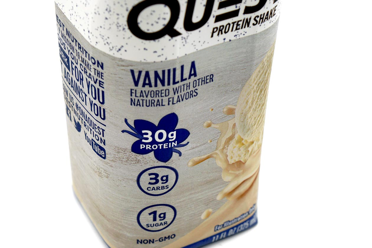 quest protein shake review