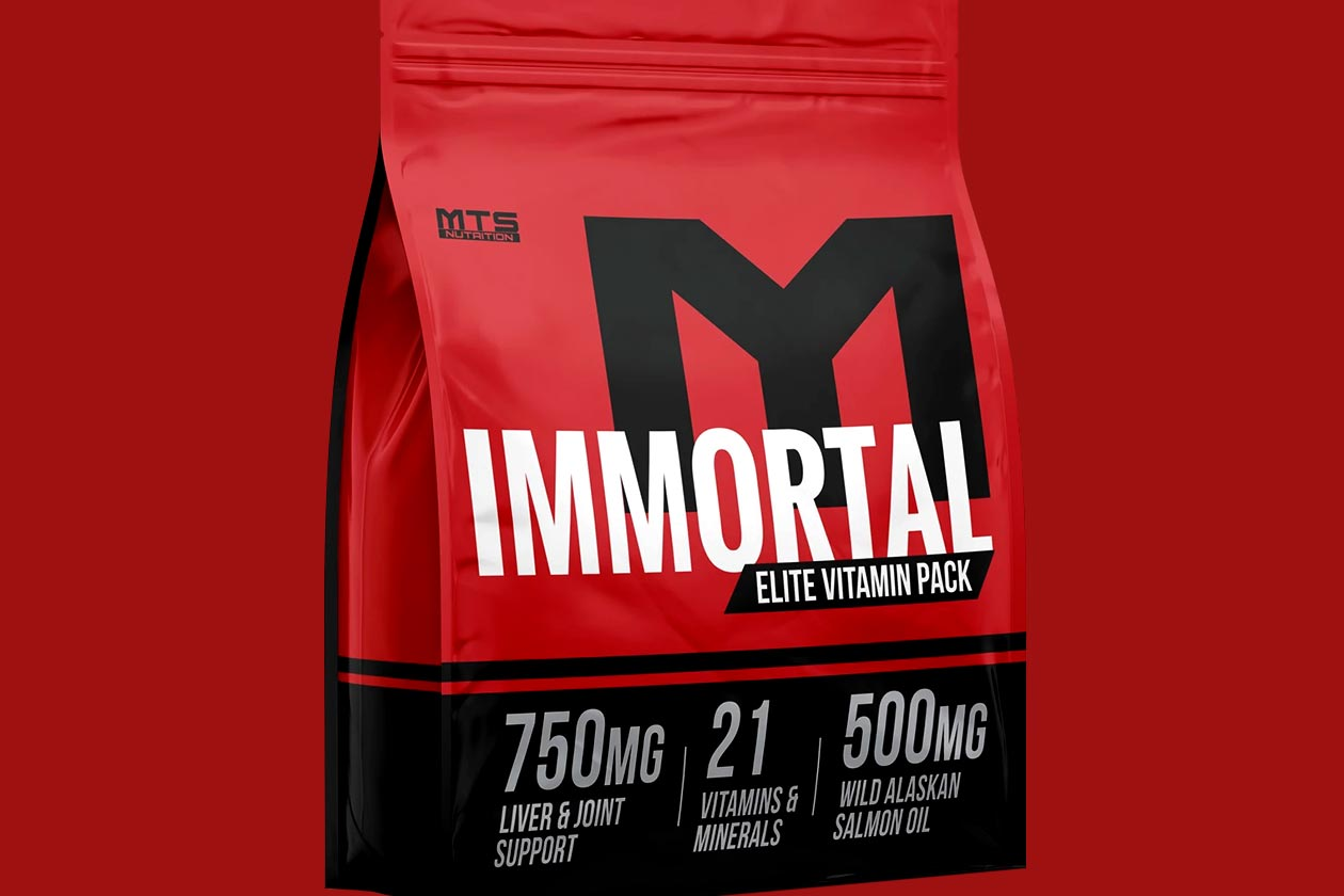 mts nutrition immortal vitamin pack