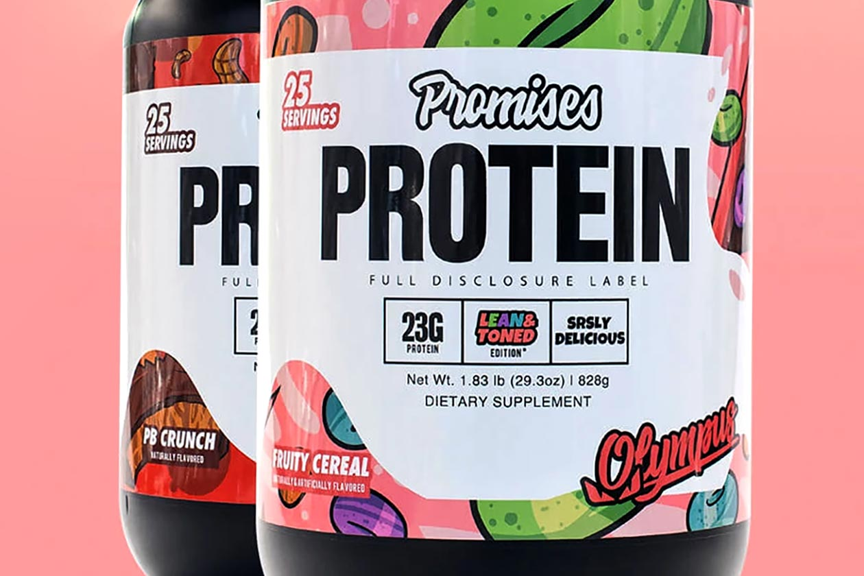 olympus lyfestyle special edition promises protein