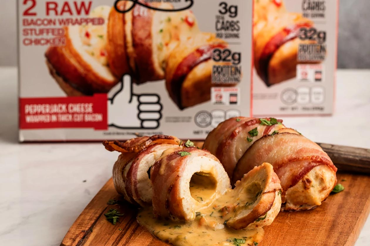 real good foods bacon wrapped chicken