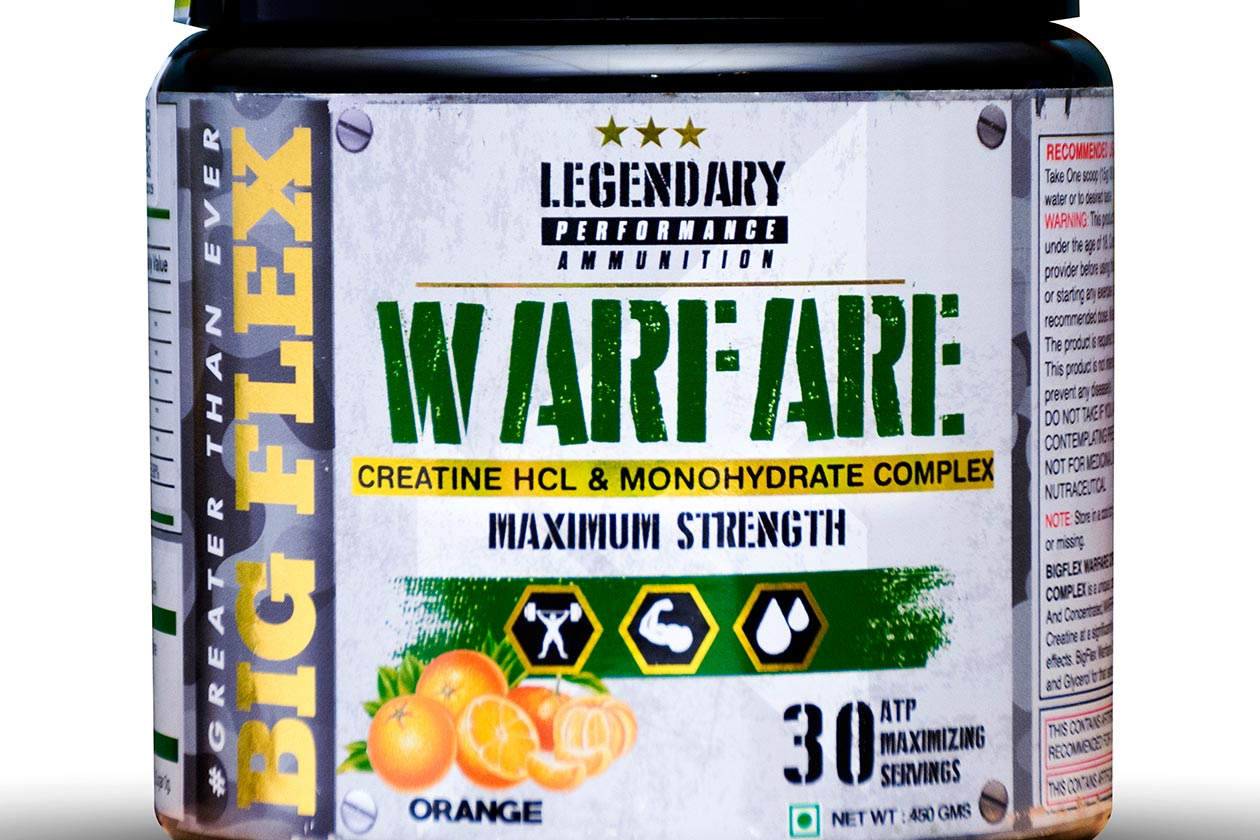 big flex warfare creatine