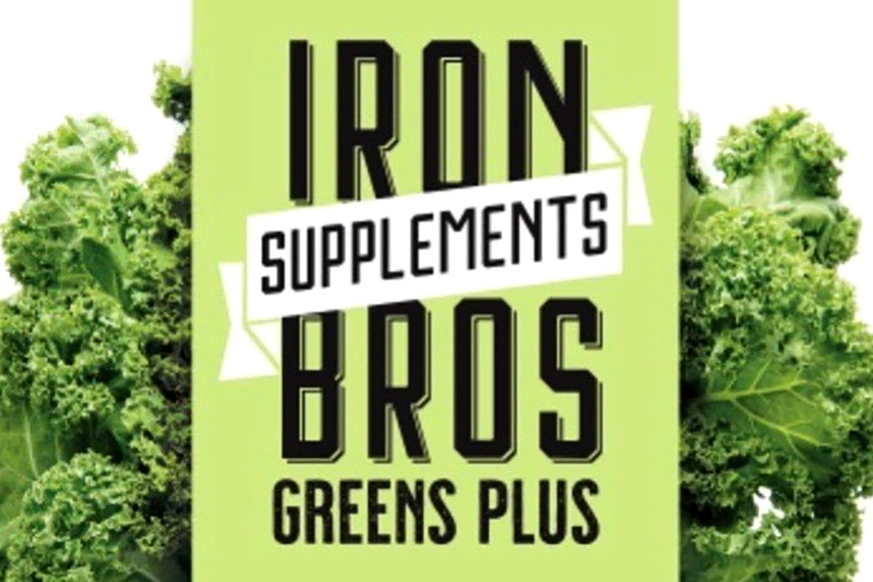 iron brothers supplements greens plus