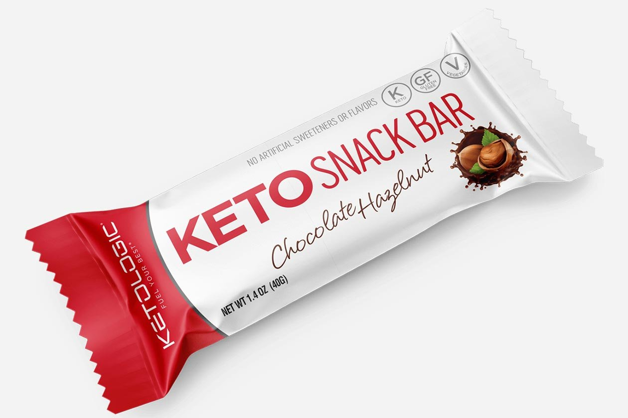 ketologic keto snack bar