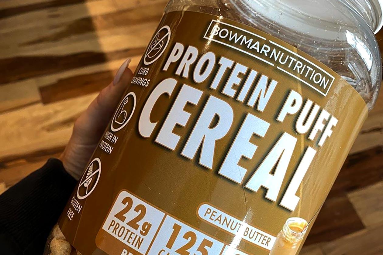 bowmar peanut butter protein puffs