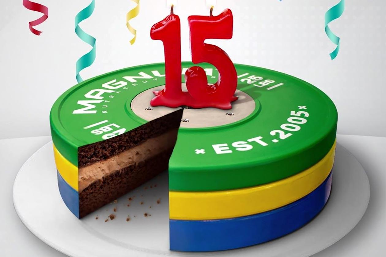magnum 15 year celebration