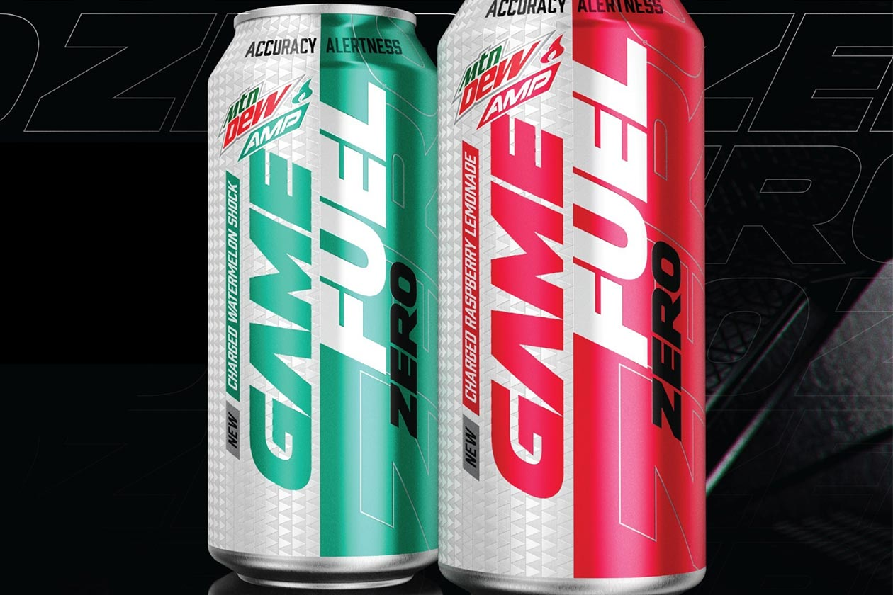 mtn dew game fuel zero