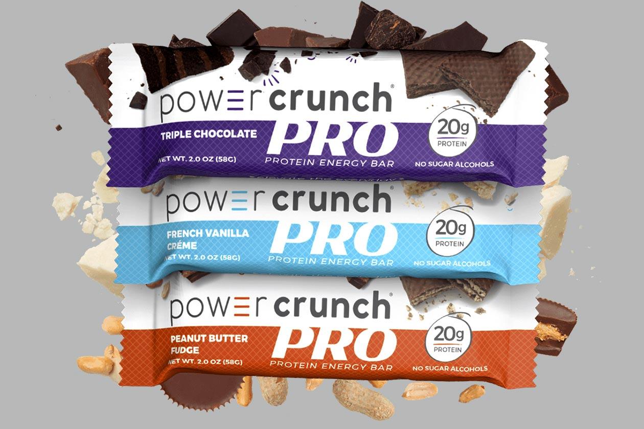 power crunch pro protein bar